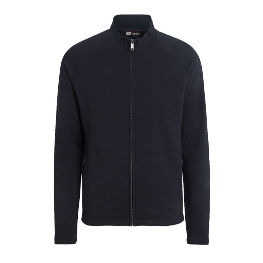 Navy Techmerino™ Zip-Up Sweatshirt