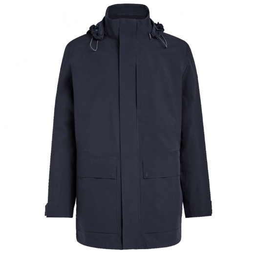 Navy Technical 3 in 1 High-Performance Fabric Jacket