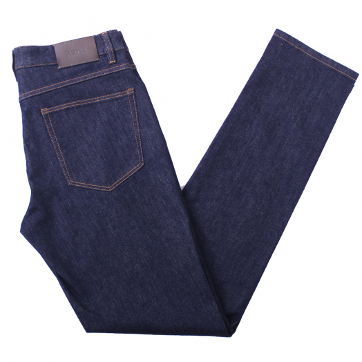 Uniform Blue Denim Slim Fit Stretch Jeans