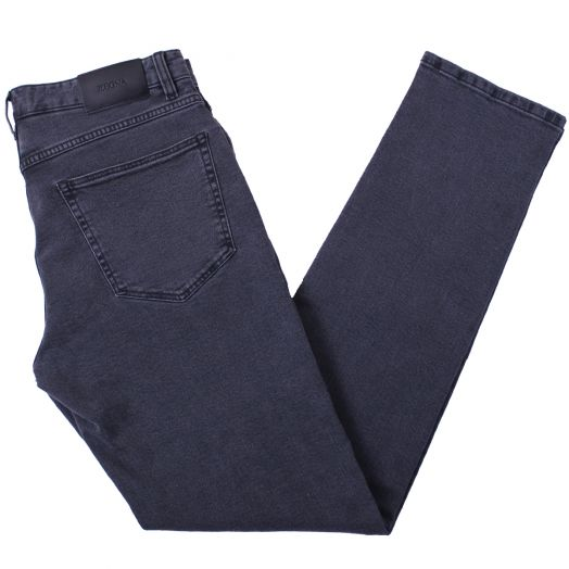 Washed Grey Slim Fit Stretch Cotton Jeans