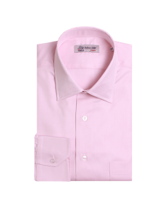 Pink Twill Swiss Cotton Shirt