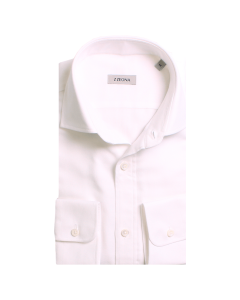 Cream Twill 100% Cotton Shirt