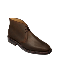 Molton Dark Brown Rough-Out Suede Boots