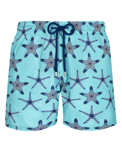 Lazulii Blue 'Starfish Dance' Mahina Swim Shorts