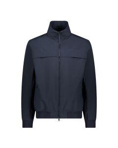 Navy Giraglia Typhoon Technical Fabric Jacket