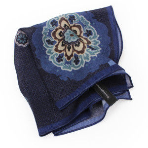 Ermenegildo Zegna Flower Pocket Square