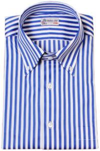 Blue & White Bengal Stripe Shirt