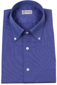Cobalt Blue Button Down Cotton Shirt