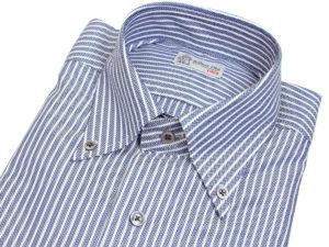 Robert Old Herringbone Stripe Shirt