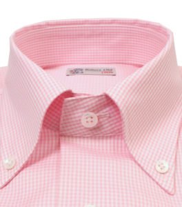 Robert Old Pink Gingham Shirt