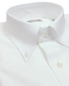 White button down collar shirt