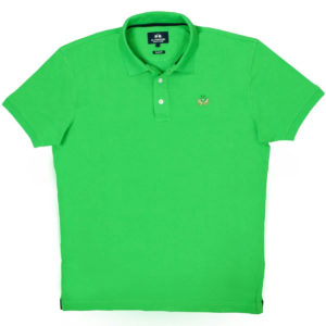 LA MARTINA CLASSIC GREEN SLIM FIT POLO SHIRT